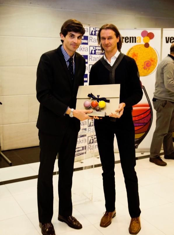 Premios Verema Miguel Arias y David Mareque
