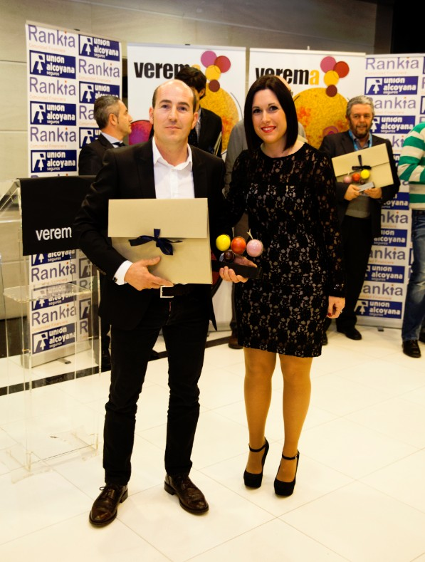 Premios Verema Jose Ramon Urtasun y Amparo Mateu