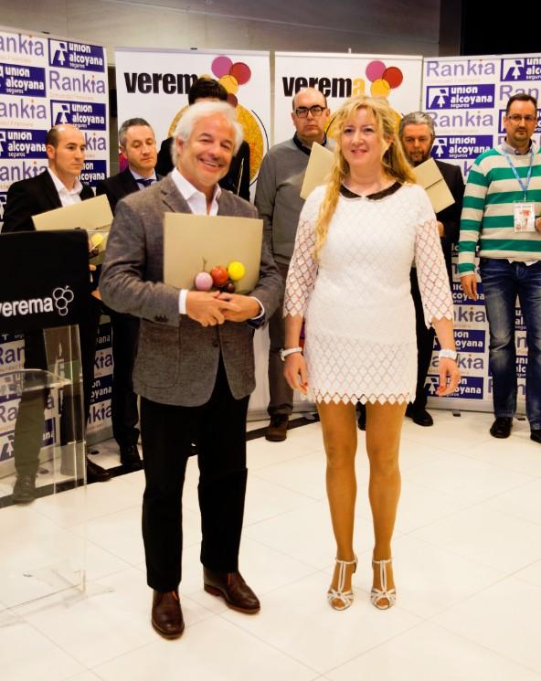 Premios Verema Esther Láez y Xavier Gramona