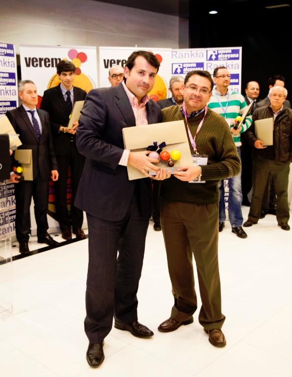 Premios Verema Pablo Osorio y Paco Higón