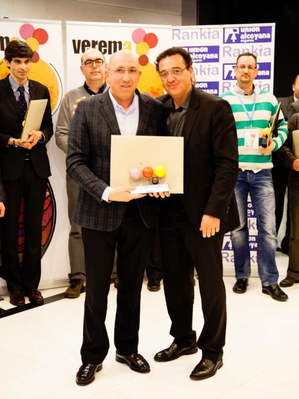 Premios Verema Marcos Eguren y José Contreras