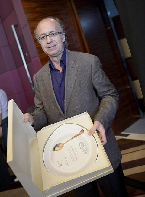 """Javier De Las Muelas recibe el premio """"Gourmet Excellence"""""""