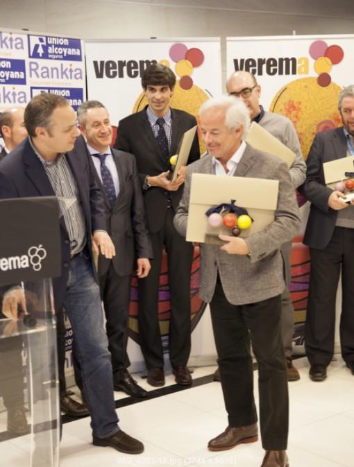 Premios Verema 2012, Juan Such y Xavier Gramona