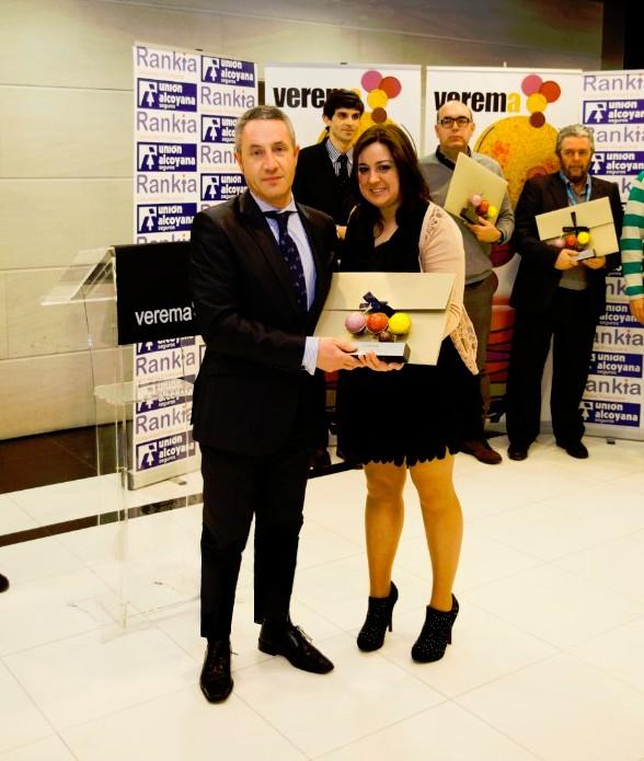 Premios Verema 2012, Luis Fernández y Mari Carmen Gil, Mejor Vino Rosado 2012