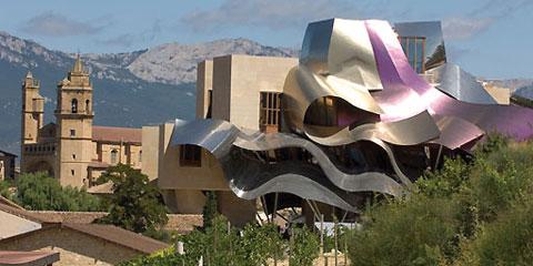 Ruta del vino de la rioja alavesa enoturismo de calidad - Arquitecto bodegas marques de riscal ...