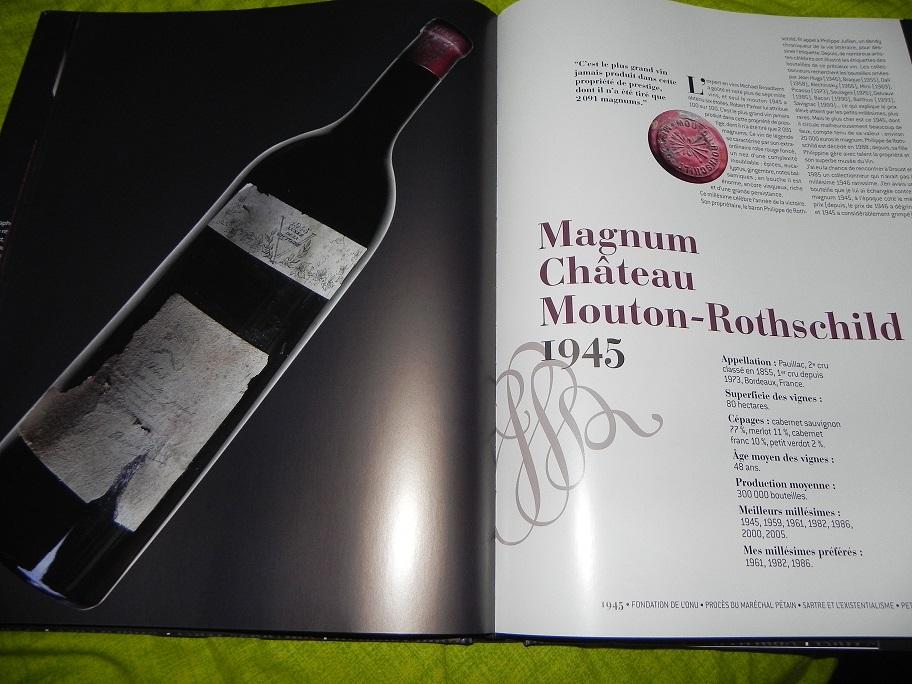 Mouton Rothschild 1945