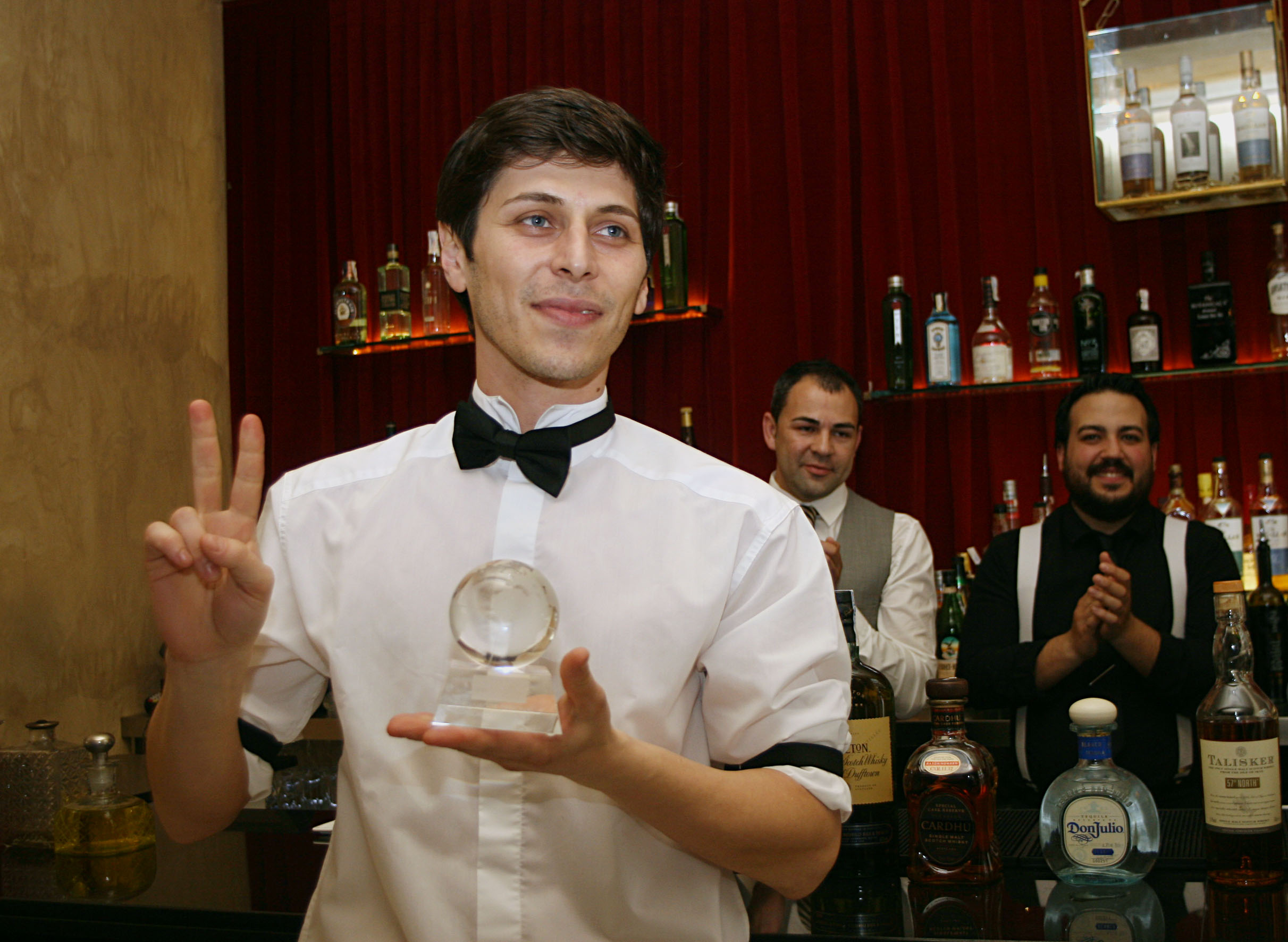 Nicky Neykov, ganador de la final regional de la World Class Competition