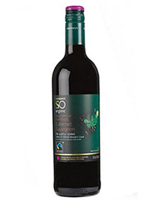 SO Organic South African fairtrade Cabernet Sauvignon NV