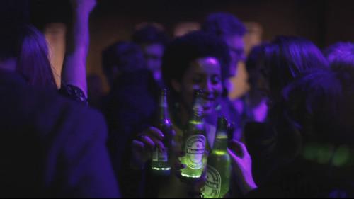Interacción en una fiesta con Heineken Ingnite