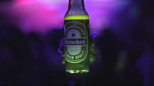 Botella Heineken Ignite