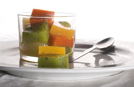 Agar agar de frutas