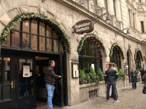 Cerveceria Agustiner en Múnich