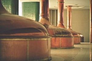 Alambiques de cocción de la Pilsner Urquell
