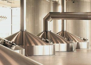 Modernas instalaciones de la cerveza Grolsch en Holanda