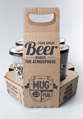 Cerveza para llevar Mug pub