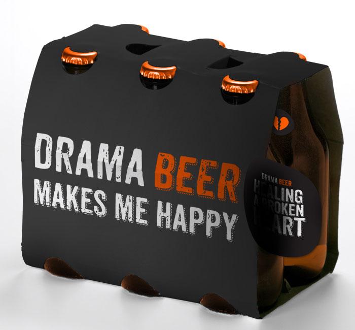 Envase de la Cerveza Drama Beer