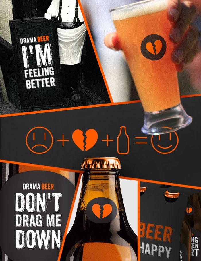 Diseño de la Cerveza Drama Beer