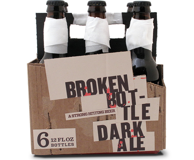 Packaging Cerveza Brokennbottle