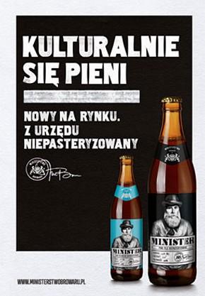 Diseño de la cerveza Minister