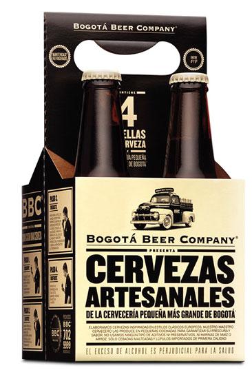 Envase de la Cerveza Bogota beer company