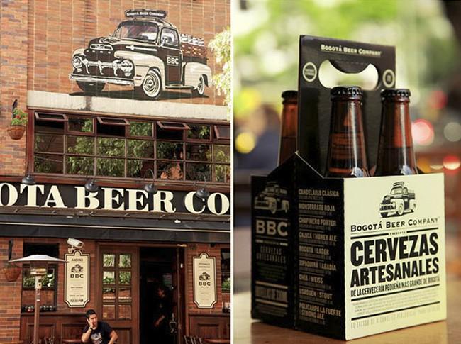 Diseños de la Cervecera artesanal Bogota Beer Company