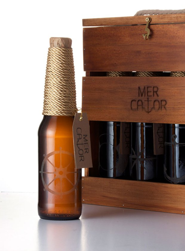 Packagign de la cerveza mercator