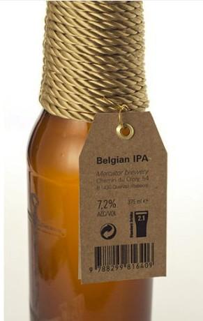 Botella de cerveza Mercator