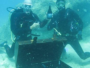 Enoturismo submarino