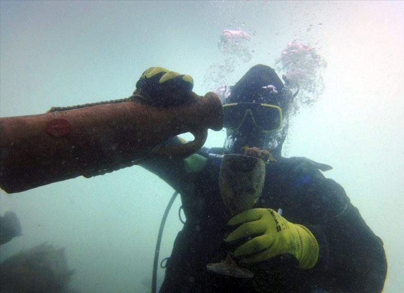 Vino submarino