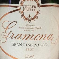 Gramona Celler Batlle Brut Gran Reserva 2002