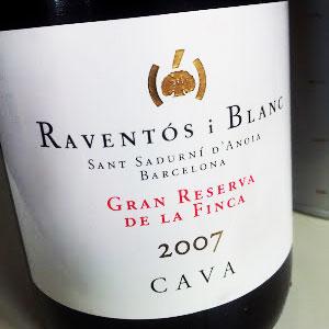 Raventós i Blanc Gran Reserva de la Finca 2007