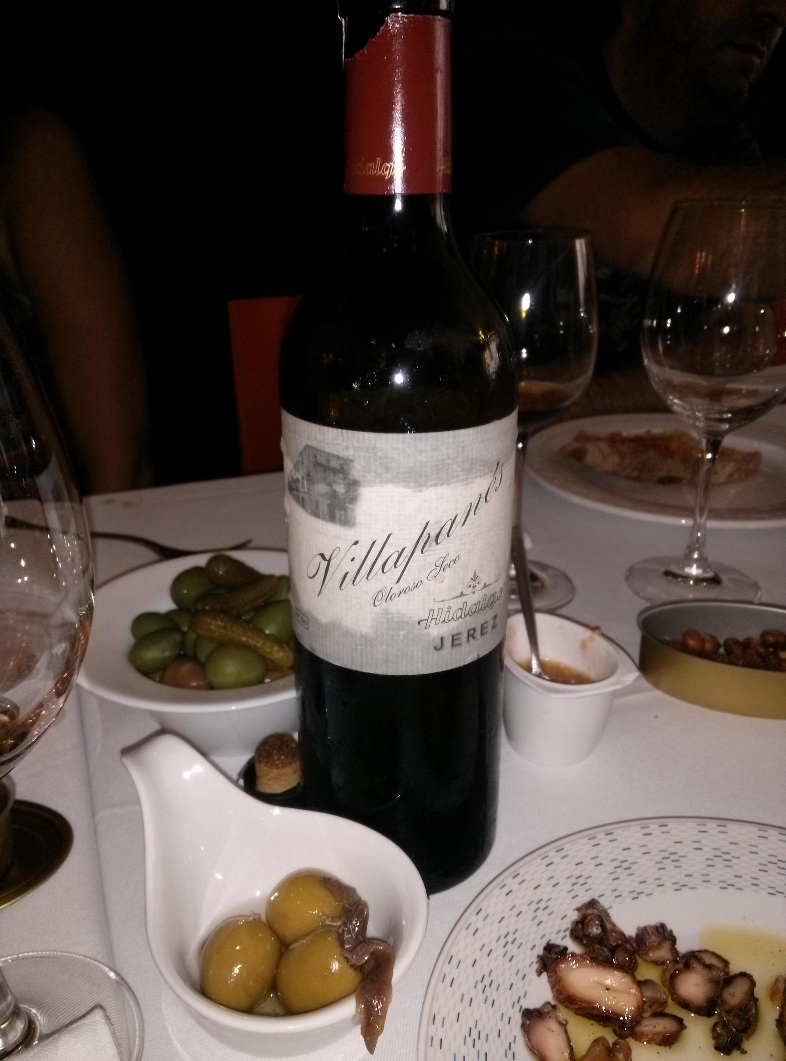 Esos vinos de Jerez