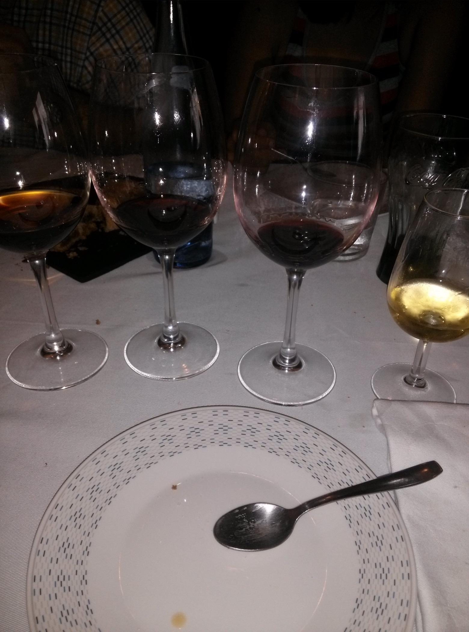 Vinos variados...