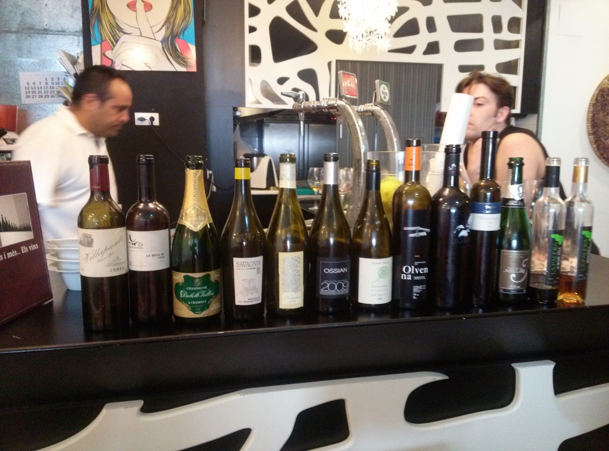 Los vinos del Festival