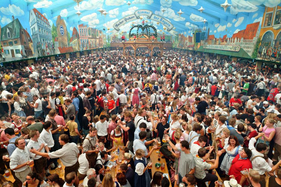 Oktoberfest en Munich, festival de cerveza