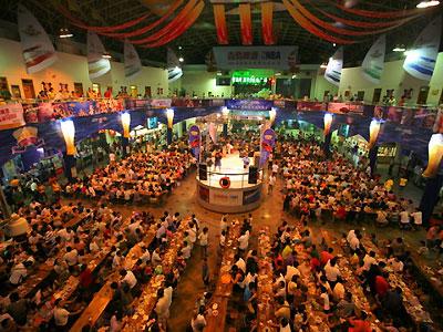 Festival de cerveza en Qingdao