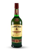 Botella de Irish Whiskey