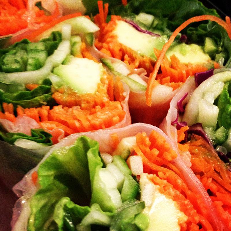 Vegetales Sushi