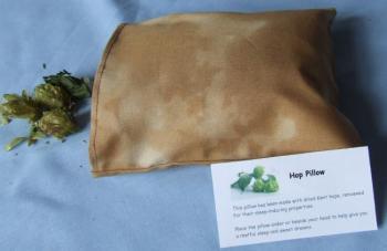 Almohada de lúpulo