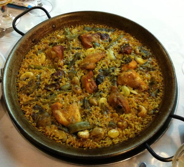 Paella Valenciana, Restaurante Casa Roberto