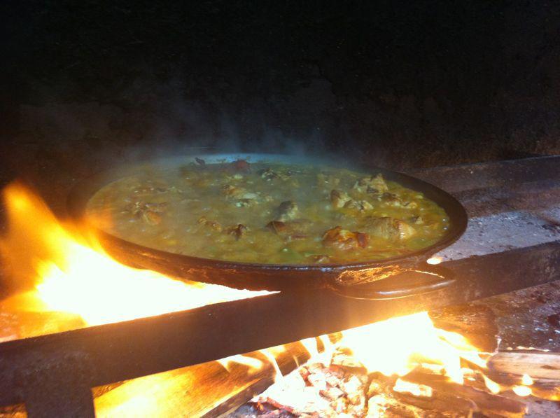 Paella Valenciana, Restaurante El Famós