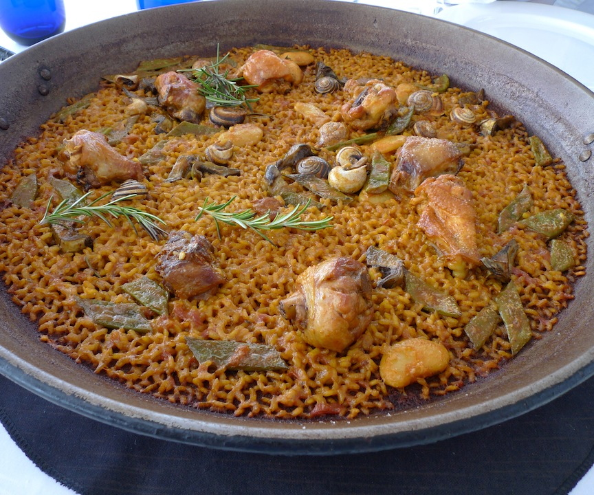 Paella Valenciana, Restaurante Borjazcutia