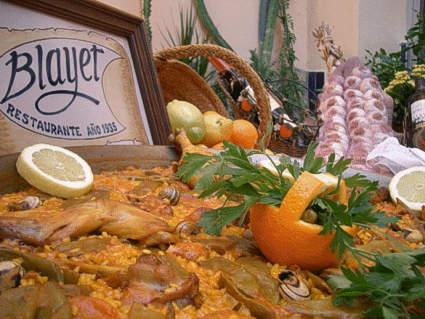 Paella Valenciana, Restaurante El Blayet