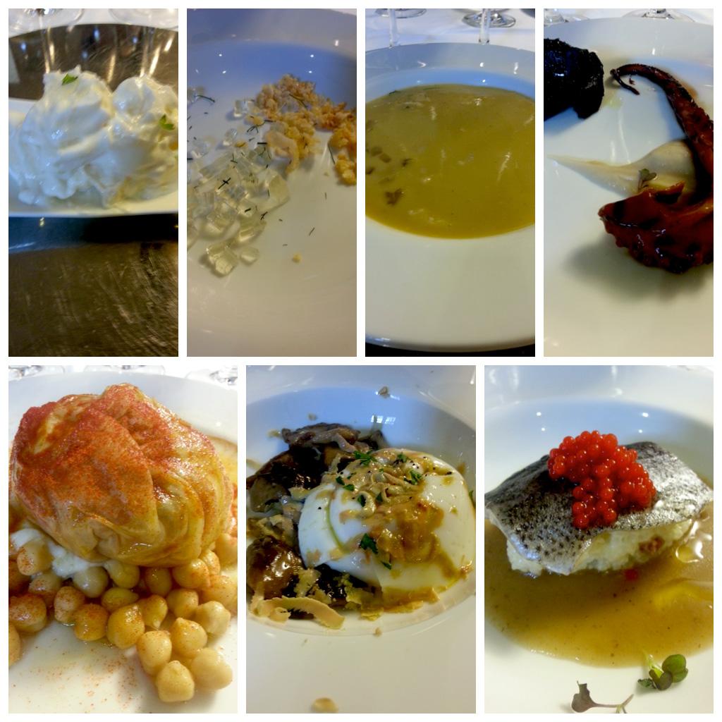 Restaurante La Tronera, menú Degustabierzo