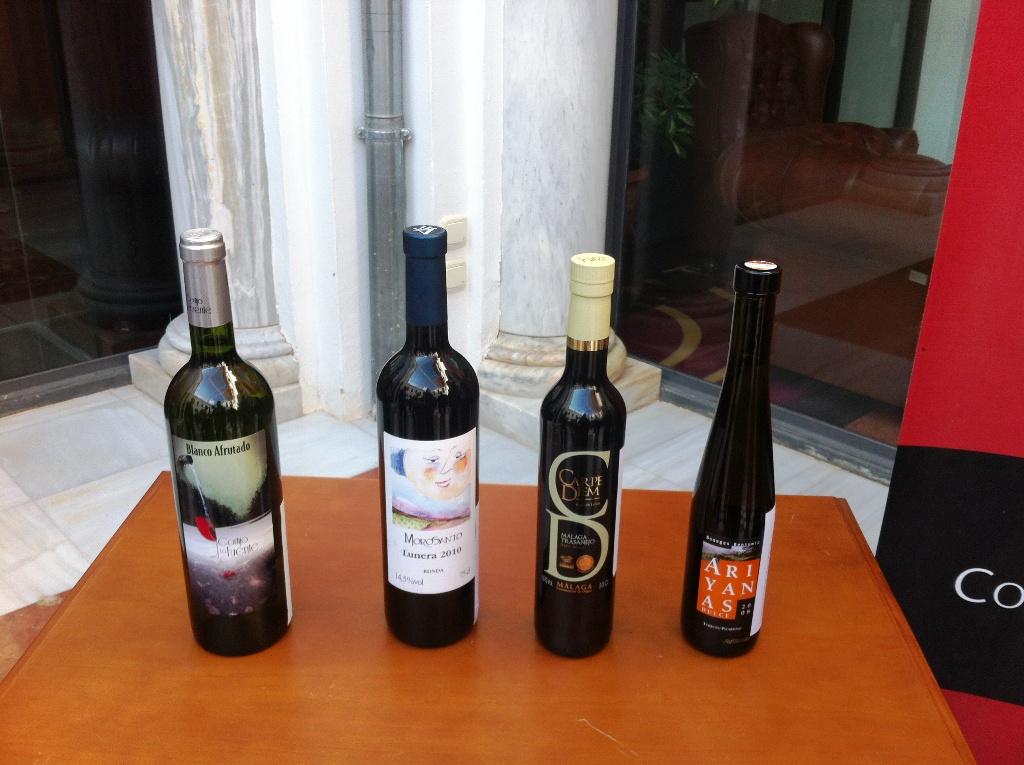 Vinos galardonados I Concurso de Vinos