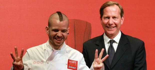 Davi Muñoz, Chef de DiverXo, con 3 Estrellas Michelin