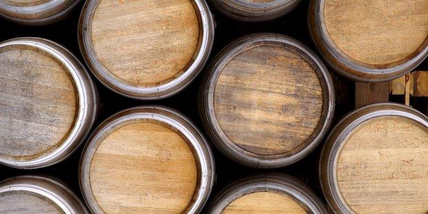 Barricas de cerveza