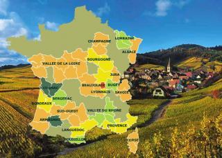 Regiones de Francia del vino francés