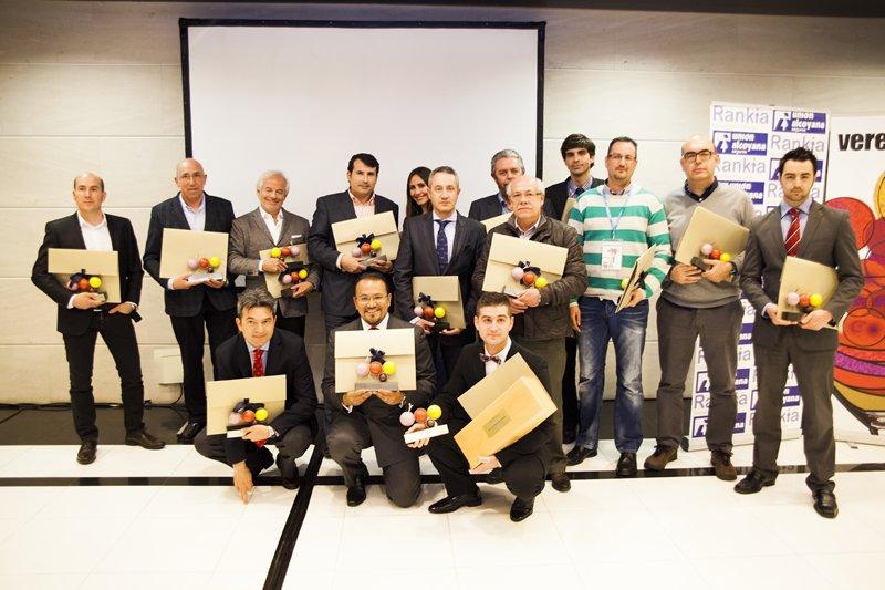 Entrega de premios Verema