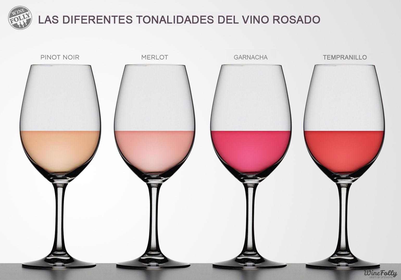 El Vino Rosado Colores Registros Y Elaboraci 243 N